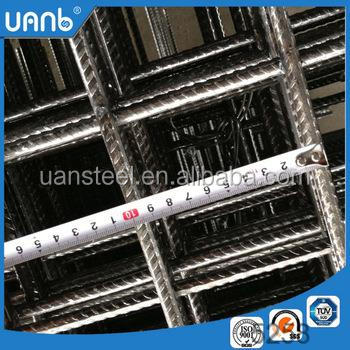 6x6 concrete reinforcing welded wire mesh/concrete reinforcement wire mesh( real factory)