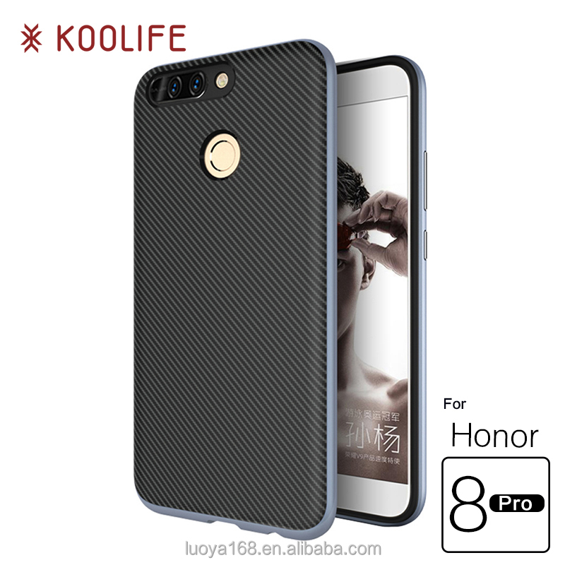 TPU&PC Hybird phone Case for huawei honor 8 pro Case back cover