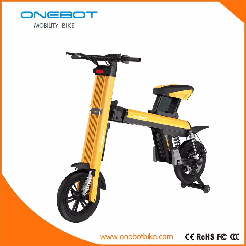 2016 fashione 12inch brushless motor mini electric bike for sale