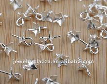 925 sterling silver jewlery accessories pendant making bails