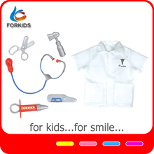 Educational mini doctor tools set, doctor costume toys for kids