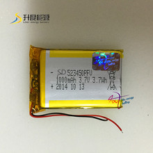 523450 1000mah li polymer battery 3 7v 523450a battery 523450 SD 523450