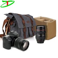 High Quality Canvas Digital Camera Bag, Vintage Slr Camera Bag, Camera Shoulder Messenger Bag