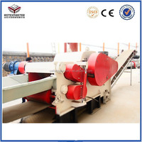 China supplier wood cutting machine forest log chipper with CE approved