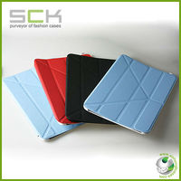 hot selling flip case for ipad ; smart cover with holder for ipad 2.3.4