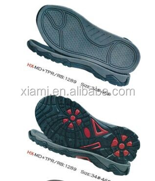 sport shoes outsole soft basketball shoes MD oil resistant outsole shoes