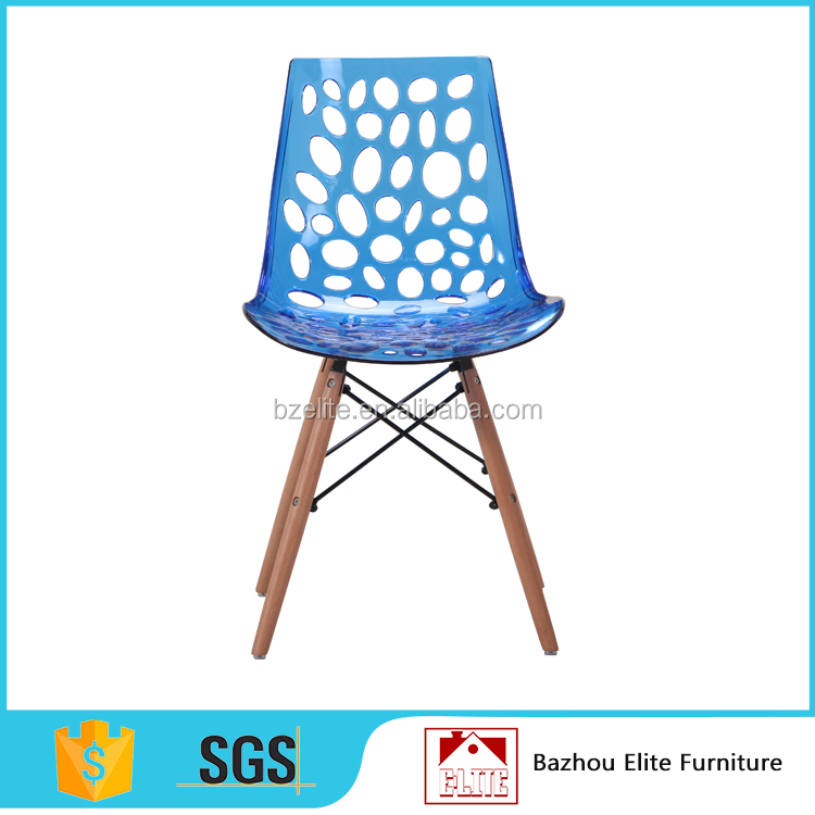 Modern cheap plastic crystal wedding <strong>chair</strong> for sale