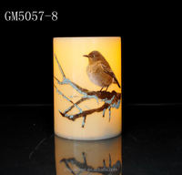Poetic led candle light for home decoration