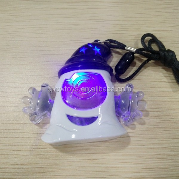 newset light toy flash ghost pendant 3 color changed