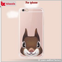 Best selling animal shape silicone phone case