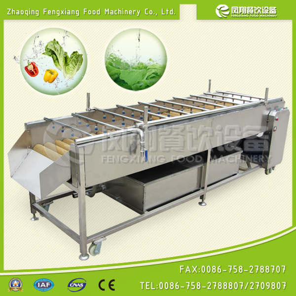 ~Manufacturer~ HP-360 fruit vegetable washing machine, High Pressure Water Spray, Brush Rollers (100% stainless steel)...Nice!