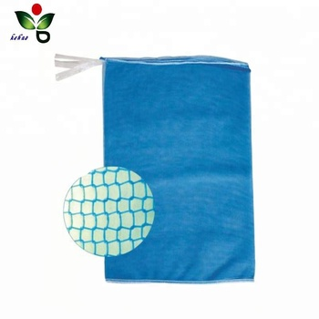 drawstring mono mesh potato onion firewood bag
