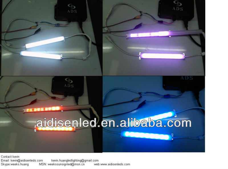 DMX aluminum bar IC 5050 SMD LED individual addressable programmable bar