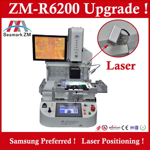 2015 hot sale mobile phone repair software zm-r6200C ic soldering machine for play station 4