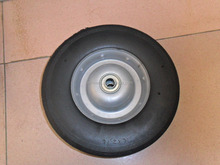 10x2.75 solid rubber wheel 10x2.75 solid tire
