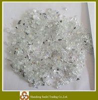 mirror glass chips for terrazzo floor
