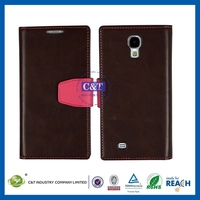 TOP Quality New Hot pu leather case for samsung galaxy s4 mini / i9190