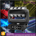 Night Club Party Stage Light 19 Channels Dmx512 Control Supper Beam 360 Roller 16Pcs 25W Rgbw 4-In-1 Moving Head
