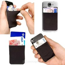 iPhones Compatible Brand and Silicon,Silicone +3M sticker Material adhesive smart wallet phone