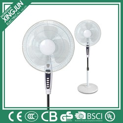 Home Appliances 2016 new model long lifetime elegant design Stand fan with 3 blade