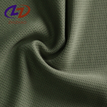 100% Polyester Double Mesh Knitted Eyelet Fabric For Sportswear