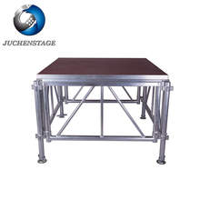 Concert/Wedding Used Mobile Stage Easy Assemble And Remove Used Portable Stage For Sale