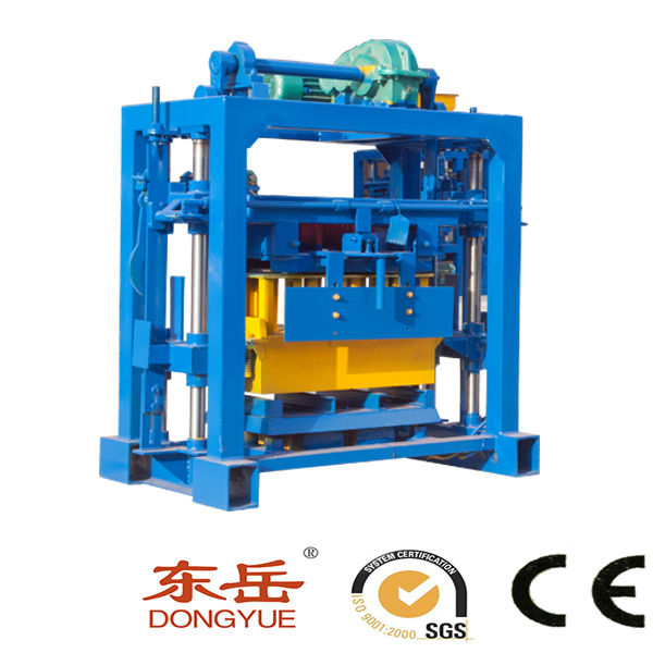 Qt40-2 lowe price light weight concrete block making machine,interlocking stone making machine