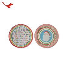 Customized pizza paper plate for wedding / party / home