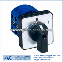 Hot selling manually changeover switch /rotary switch/25A