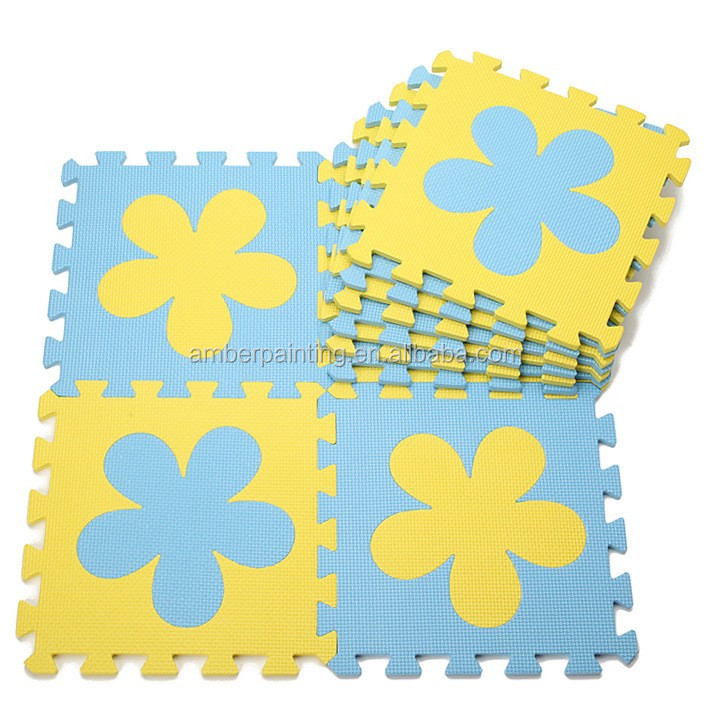 Non toxic kids play mat educational alphabet eva foam puzzle floor mat