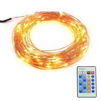 Fod-sports Christmas Water Proof LED String Lights with Copper String Lights