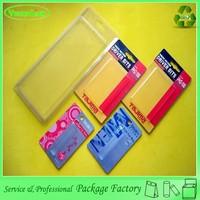 Newest design high quality customized plastic lipstick blister tray with a cardboard