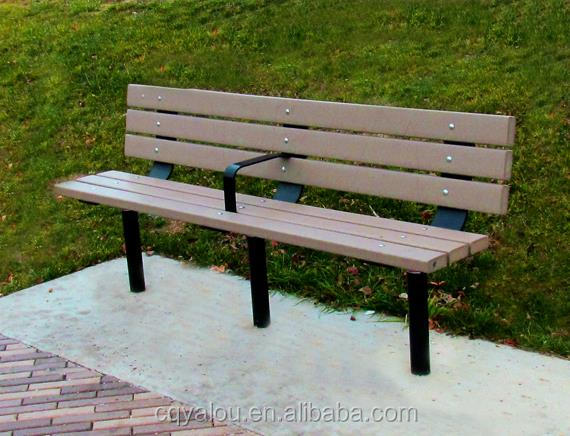 Brand new economic long garden bench with back for sale made in China