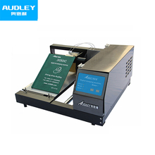 Automatic printed hot foil stamping machine for plastic leather ADL-3050C