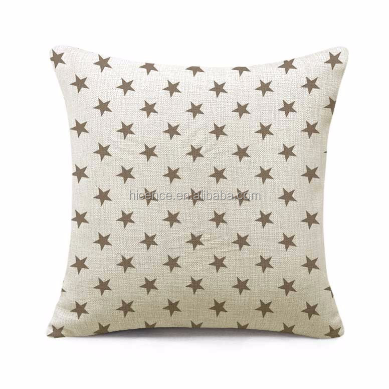European Stars Style 55cm*55cm large Sofa Seat Decorative Cushion Pillow Case
