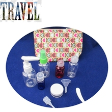 NEW Cheap promotional bathroom empty toiletry bottles
