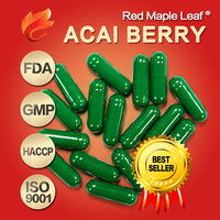 1000mg Fat Loss Pure Organic Acai Berry Extract Capsules