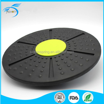 Simple Color Multi- function body Fit Board Yoga Plate