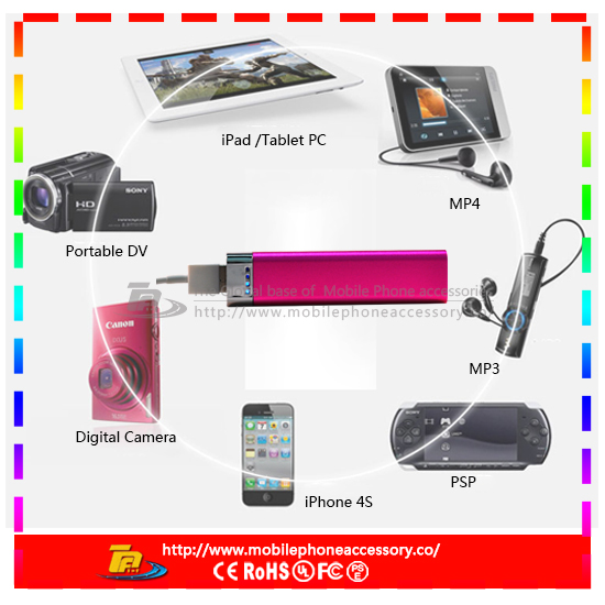 MB-FC17 portable mini for samsung galaxy s4 i9500 power bank