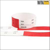 Cheap Water Proof Printable Make Tyvek Wristbands For Hospital
