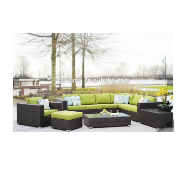 Latest Design Relaxed Leisurely Sofa Set Garden Treasures Patio Furniture  Company