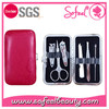 High Quality 6pcs accessories professional Manicure Tools Set