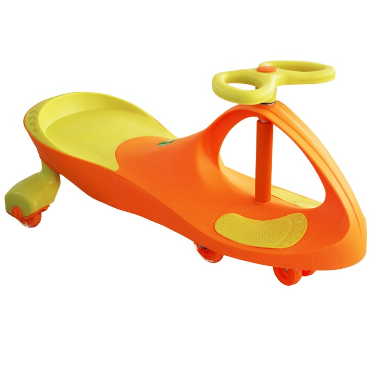 2017 most popular kids toy ride on car plastic toys/lovely baby swing car