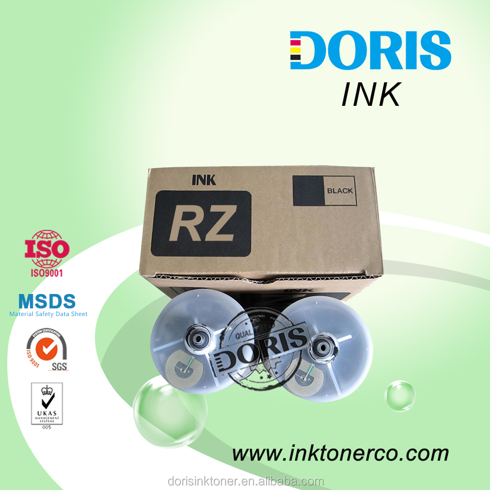 RZ RV EZ EV duplicator ink with chip for Risograph