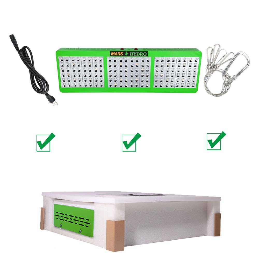 Mars Reflector720W Full spectrum LED Grow Light for Indoor Plants