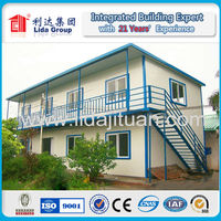 Russia Workforce Accommodation CE sandwich panel house alibaba china prefab houses