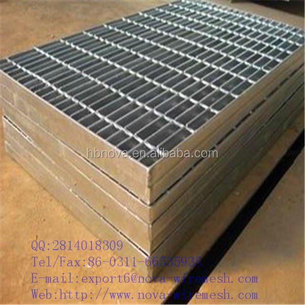 Stainless steel floor anti-slip steel grating offshore