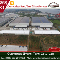 Best price multi-function aluminium tent for industrial warehouse and workshop tent for sale