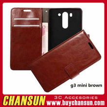 Flip Leather Case for LG G3 Mini,Fold Stand Wallet Cover Smart Leather Case for LG G3 mini