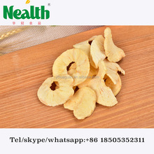 natural sweet dried apple chips